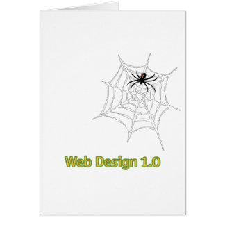 Web Design 1.0 Card