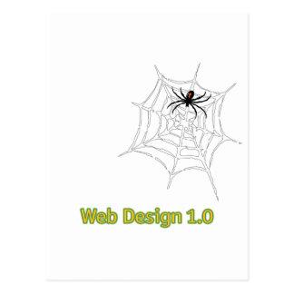 Web Design 1.0 Postcard