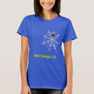 Web Design 1.0 T-Shirt