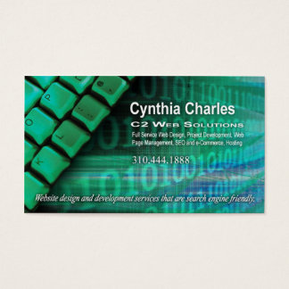 Web Designer Business Cards & Templates | Zazzle