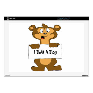 Web Design Bear Laptop Decals