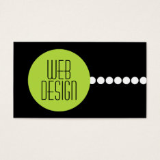 Web Design Business Cards at Zazzle
