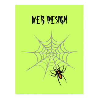 Web Design Postcard