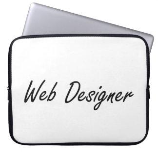 Web Designer Artistic Job Design Laptop Computer Sleeves