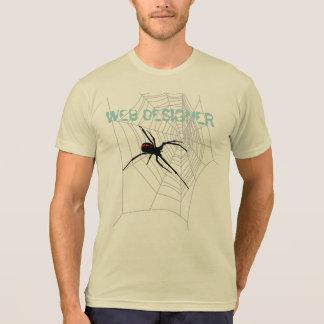 WEB DESIGNER & SPIDER T-SHIRTS