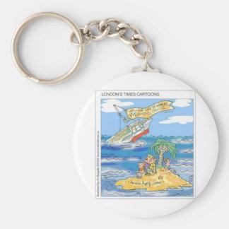Web Designers Terror Cruise Ship Funny Gifts & Tee Keychain