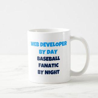 Web Developer by Day Baseball Fanatic by Night Classic White Coffee Mug