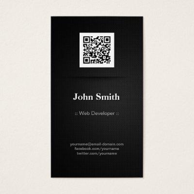 Mobile App Developer - Creative Modern Metro Style Business Card ...