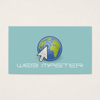 Web Developer Master Designer Computer Tech Business Card