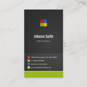 App Designer Business Cards