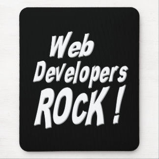 Web Developers Rock! Mousepad