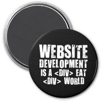 Web Development: A DIV EAT DIV World Magnet