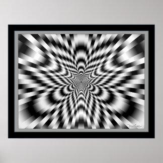 Web Dizzying de vibraciones Póster