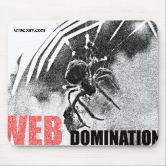 WEB Domination mouse pad