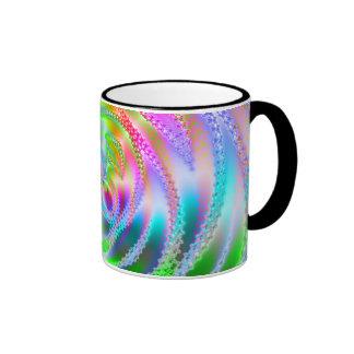 Web enrrollado taza de dos colores