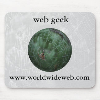 web geek mouse pad