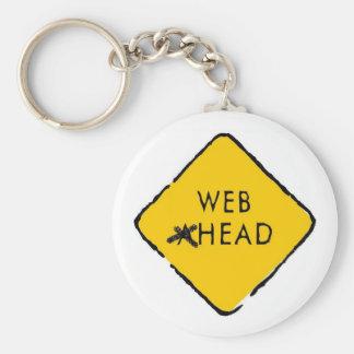 Web Head Keychain