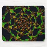 Web Mousepad del fractal Alfombrilla De Raton