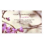 Web natural tarjeta de negocio