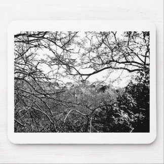 Web of Branches Mouse Pad