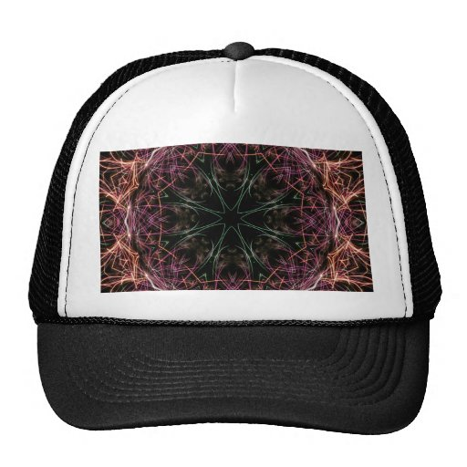 Web of Color Kaleidoscope Hat