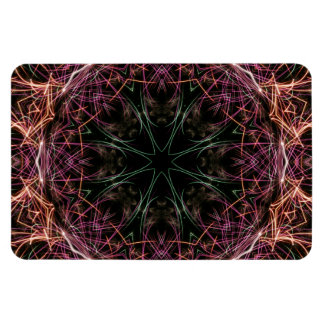 Web of Color Kaleidoscope Premium Flexi Magnet