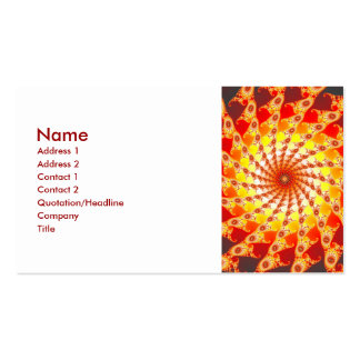 Web Of Fire Business Card