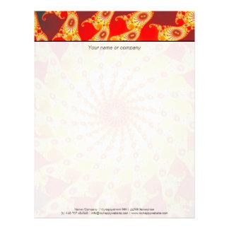 Web Of Fire Letterhead