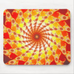 Web Of Fire Mouse Pad