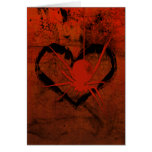 Web Of Love Gothic Valentine's Card