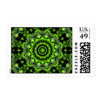 Web of the Spider Mandala, Abstract Circle Dances Stamp