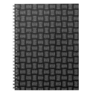 Web optics - anthracite coal notebook