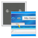 Web Page Browser Button