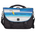 Web Page Browser Laptop Bags