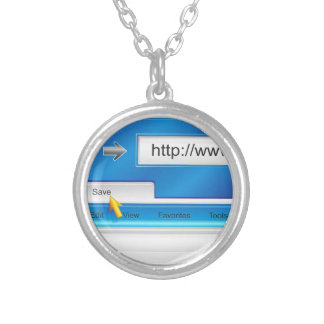 Web Page Browser necklace