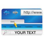 Web Page Browser Premium Flexi Magnet