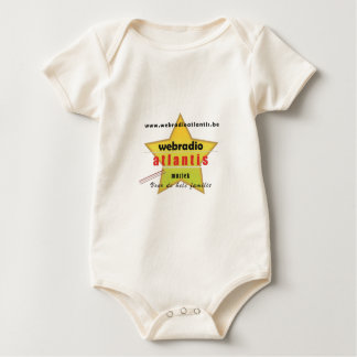 web radio Atlantis - promotion material Baby Bodysuit