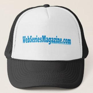 Web Series Magazine Signature Design Trucker Hat