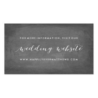 Web site floral del boda de la rosaleda de doble tarjetas de visita