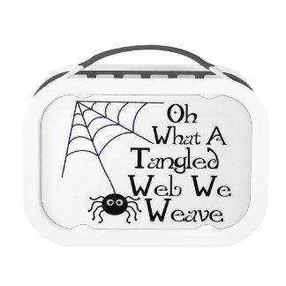 Web spider enredado