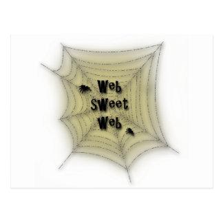 Web sweet web postcards