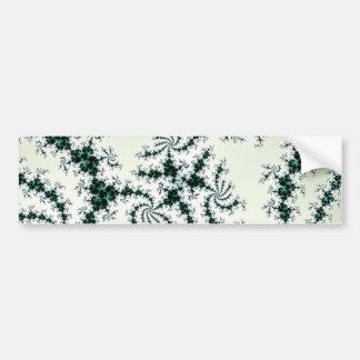 Web verdes - cordón delicado del fractal