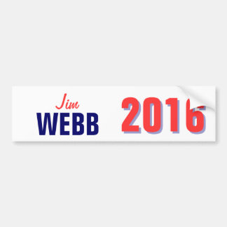 Webb 2016 bumper sticker