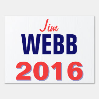 Webb 2016 yard sign