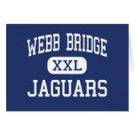 Webb Bridge Jaguars Middle Alpharetta Greeting Card