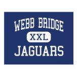 Webb Bridge Jaguars Middle Alpharetta Post Card