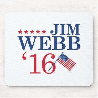 Webb For President Mouse Pad