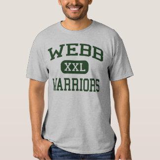 Webb - guerreros - joven - Ferndale Michigan Remera