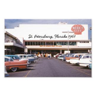 Webb s City St Petersburg Florida Photo Print