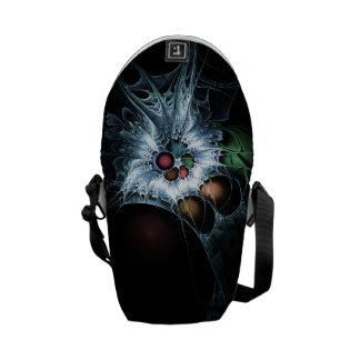 Webbed Messenger Bag
